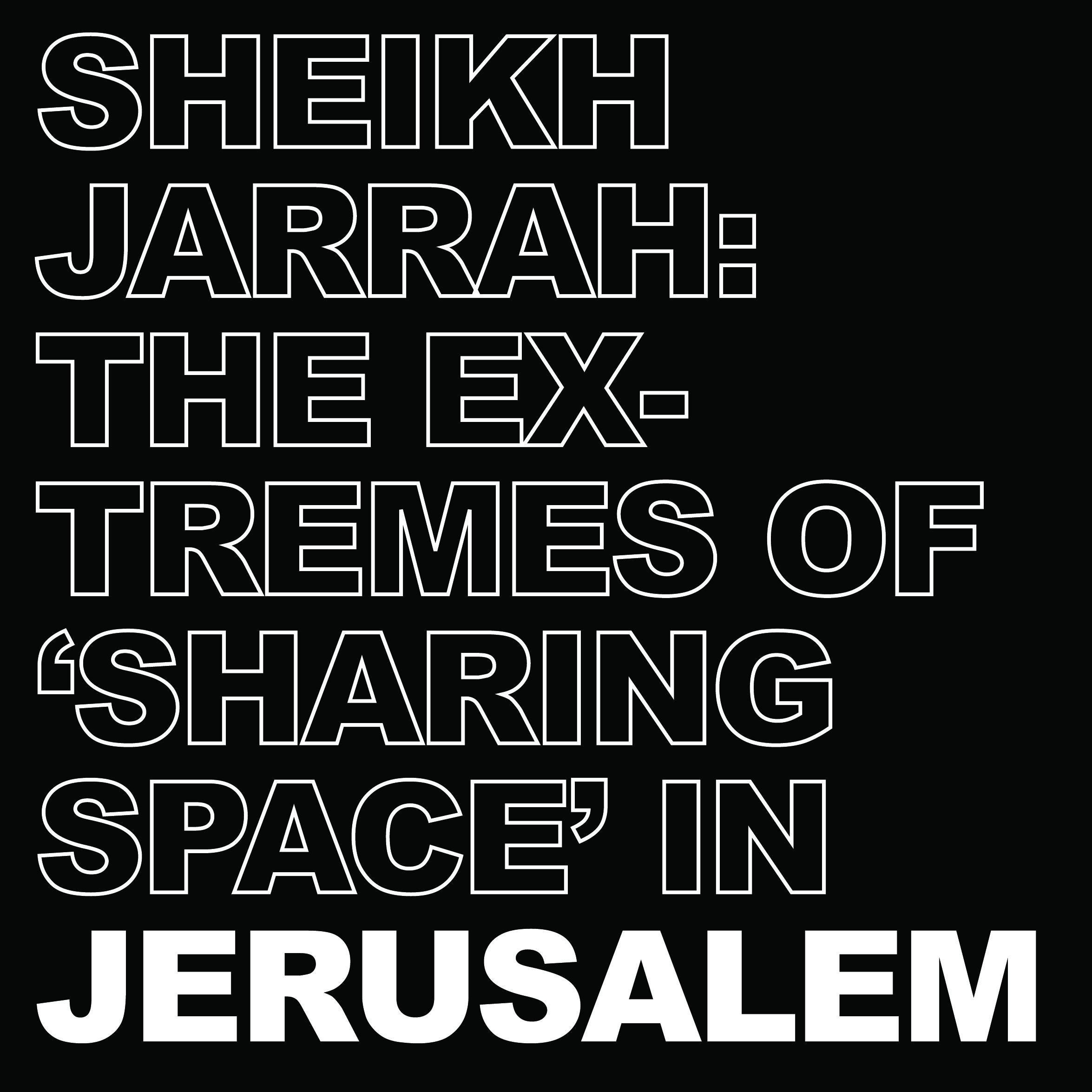 Photo-essays cover - Jerusalem