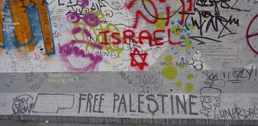 Jerusalem wall graffitti front page carousel