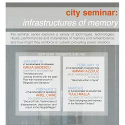 UCR in this term's Cambridge City Seminar